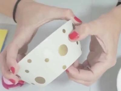 Cómo usar las calcas cerámicas y las troqueladoras