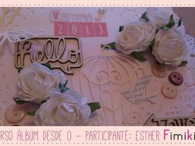 Concurso Álbum desde 0: Participante Esther