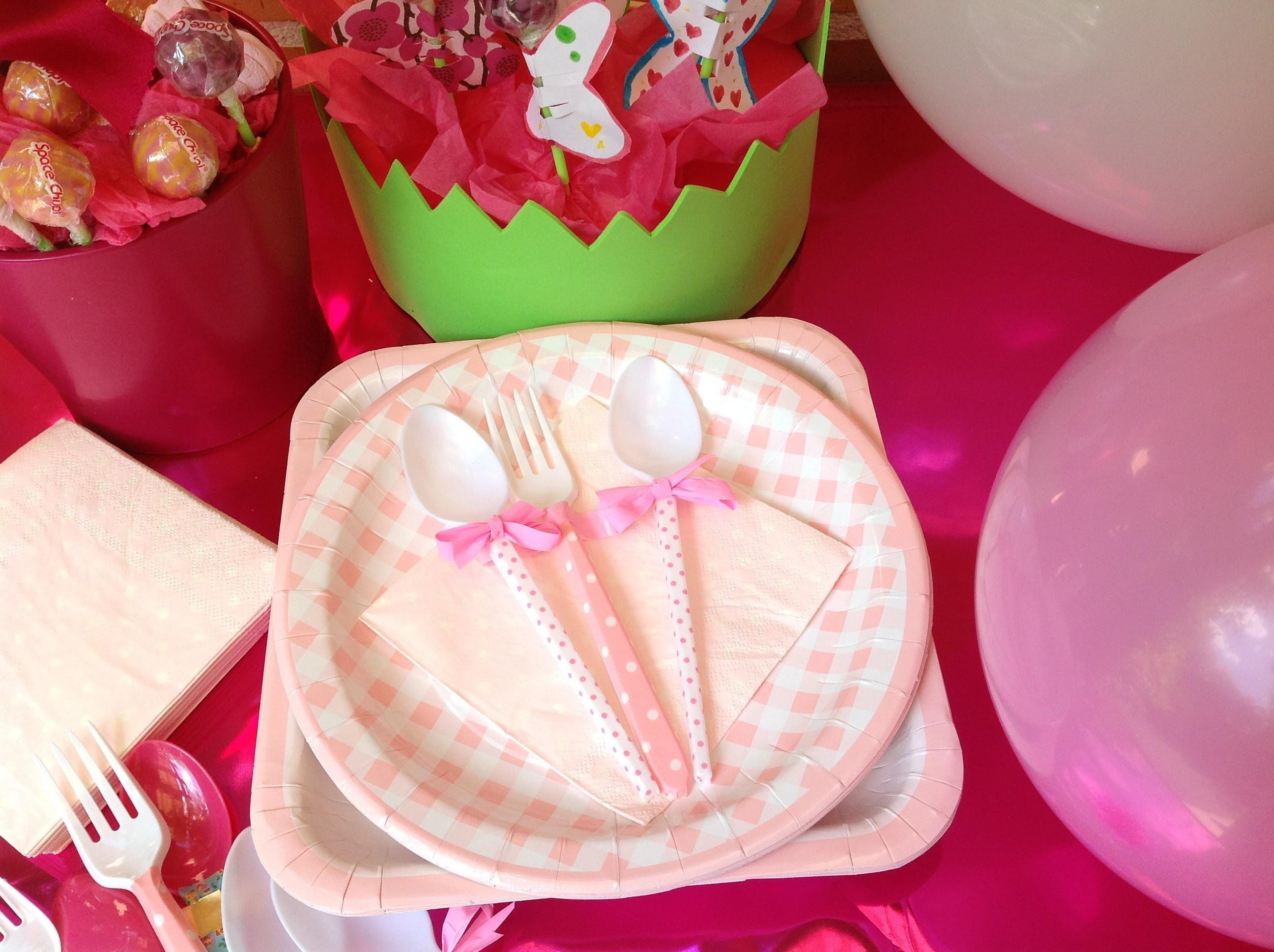 Cucharas Decoradas Para Fiestas Infantiles Washi Tape Spoons - Decorados-para-fiestas