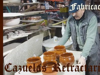 Curso de Cerámica - Esmalte y Cocción de Cazuela de Barro Refractarío