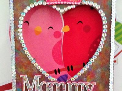 Decora un porta retrato para día de las Madres,pintura acrilica porta portrait for mothers day