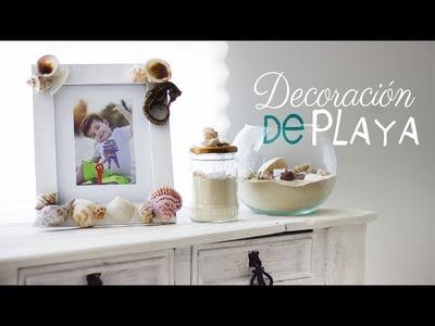 Decoracion estilo Playa. Decora tu habitacion. Room Decor Beach