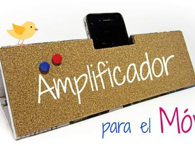 DIY: Amplificador para móvil o celular. Mobile amplifier.