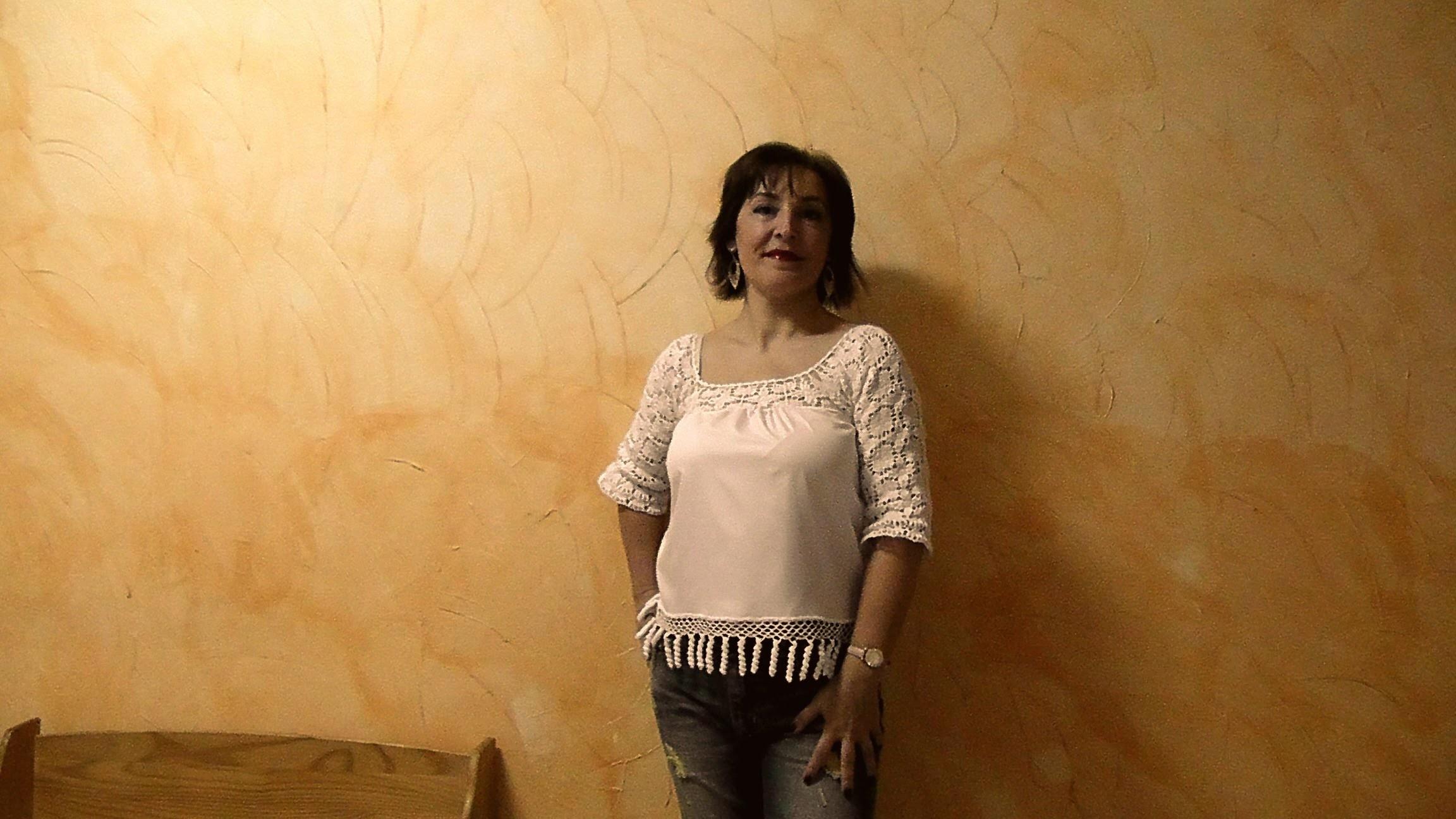 DIY:BLUSA DE TELA Y GANCHILLO