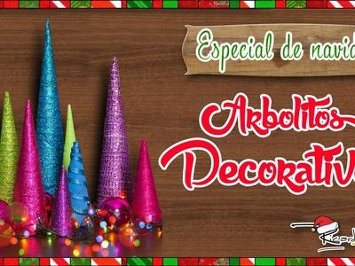 ESPECIAL DE NAVIDAD: Arbolitos Decorativos (episodio 4)