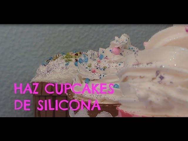 Haz cupcakes de silicona!!!♥