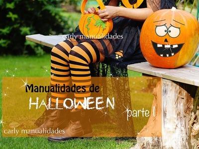 Manualidades de Halloween ( Parte 1)