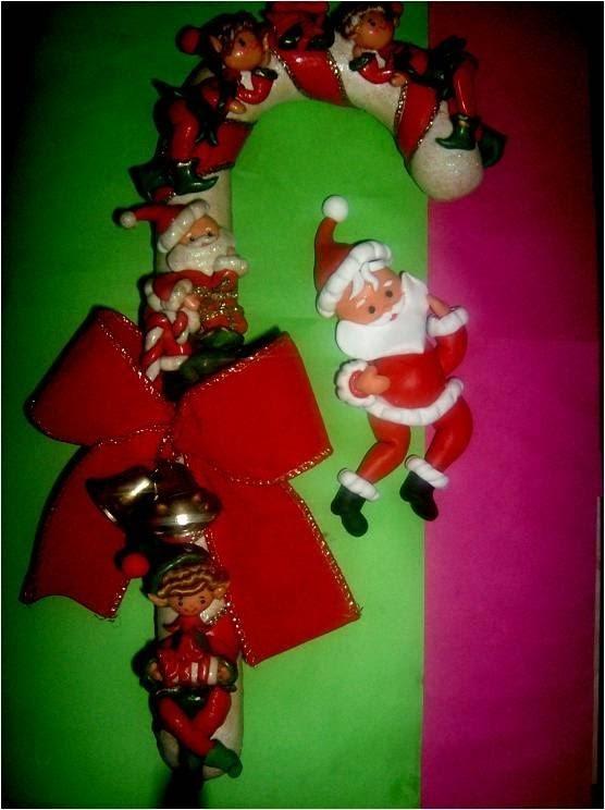 Manualidades Navidenas Papa Noel Con Porcelana Fria - Manualidades-navideas-papa-noel