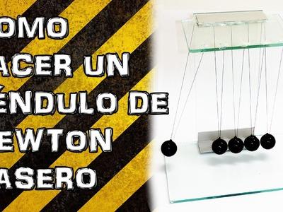 Pendulo de Newton Casero (Experimentar En Casa) - Bolas de Newton