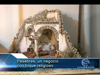 PESEBRES UN NEGOCIO DE TRADICIÓN