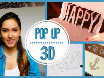 POP UP 3D - Ideas creativas | Kika Nieto