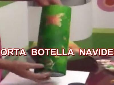 PORTA BOTELLA NAVIDEÑA 11