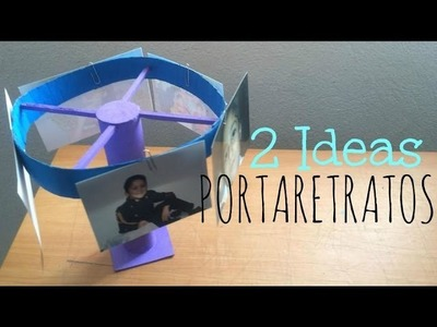 """PORTA RETRATOS PARA PAPÁ"" COMO DECORAR MI CUARTO (2 ideas) - Consejosjavier"