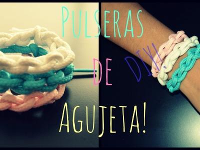 Pulseras de Agujeta-DIY.Mon♥