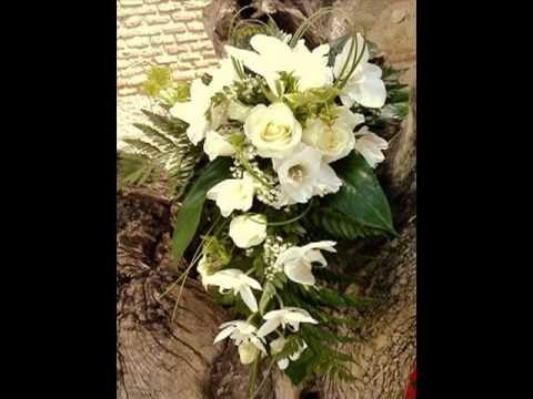 Ramos de novia de caida o cascada por Krabelin