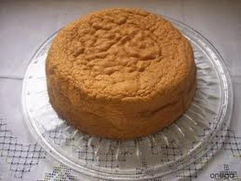 Receta: Bizcocho Casero Basico Para Tortas - Silvana Cocina Y Manualidades