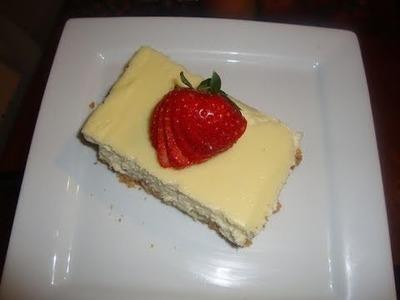 Receta de cheesecake un postre exquisito y fácil - La receta de la abuelita