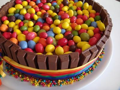 TARTA KitKat - M&M  # 144 #