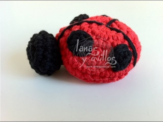 Tutorial Mariquita Amigurumi Ladybug en Español (English Subtitles)