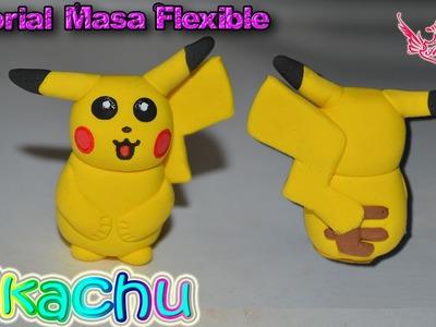♥ Tutorial: Pikachu de Masa Flexible ♥