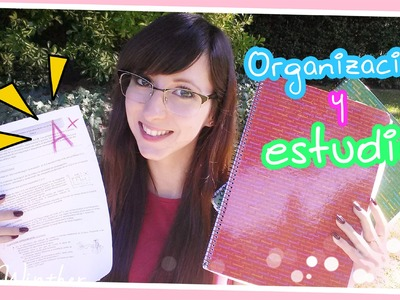 Vuelta a clase 2014: Organización + Tips de estudio ♡ . Sally Winther