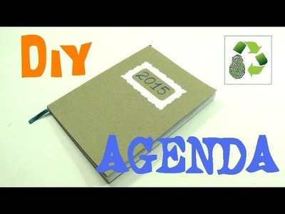 146. DIY AGENDA 2015 (RECICLAJE DE PAPEL)