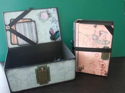 Album Scrapbooking con caja a juego