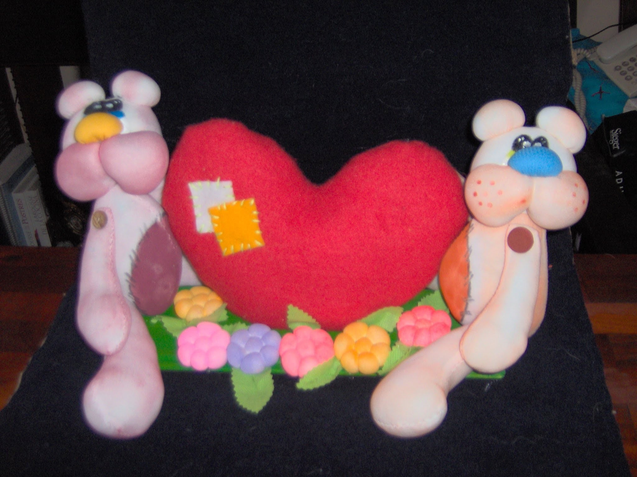 Bears doll in love .osos enamorados  1.7. proyecto 94