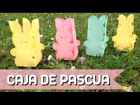 Caja para Pascua: Cesta conejo - Easter Bunny Basket