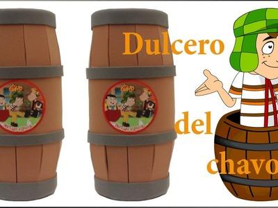 COMO HACER DULCERO DEL CHAVO DEL OCHO