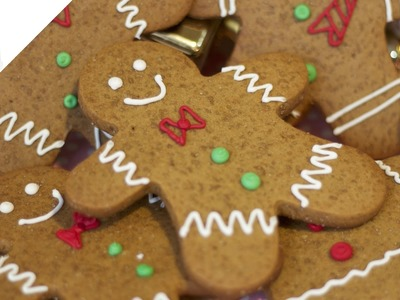 Cómo hacer Galletas de Jengibre Navideñas (Gingerbread man) | Recetas de Azúcar con Amor