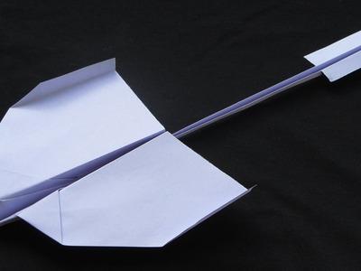 Como hacer un Avion de Papel que Vuela Mucho - Aviones de Papel - Origami Avión | Nevermind