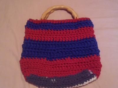 Como hacer un bolso de playa a ganchillo o crochet