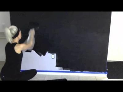 Convierte cualquier pared en un pizarrón enorme!   Superholly