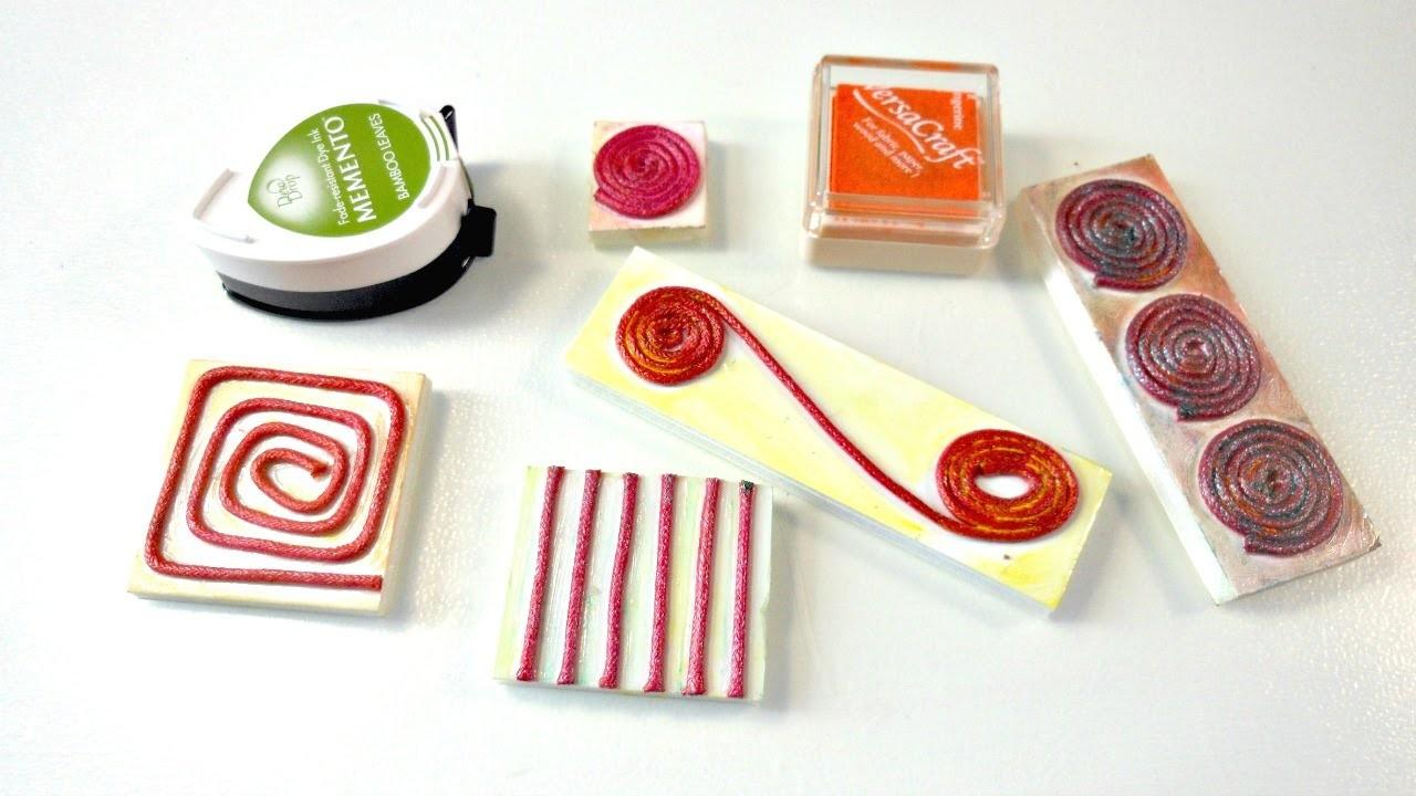 Creación de Selllos #2 Cordón | Crea tus propios sellos con cordón encerado @ Muno@Party