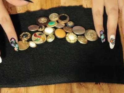 DIY Collar vintage| Como hacer un collar vintage| Collar de moda