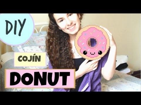 DIY: Cómo hacer un peluche de donut kawaii | cupcakemoon
