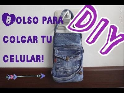 DIY Haz tu propio bolso para tu celular!!