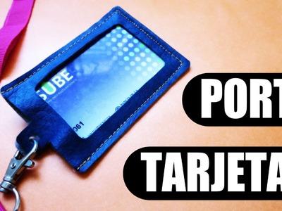 DIY: Porta tarjeta o credencial