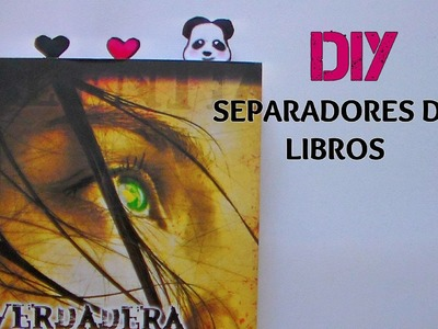 DIY SEPARADOR DE LIBROS