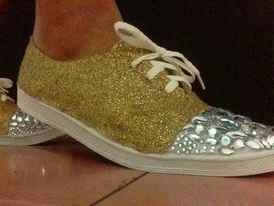 DIY TENIS estilo MIU MIU (sneakers)