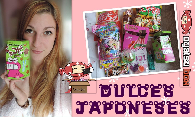 Dulces japoneses: Unboxing y ¡los pruebo! #1 ♥ Oyatsu Box ✮ Hachilovekawaii