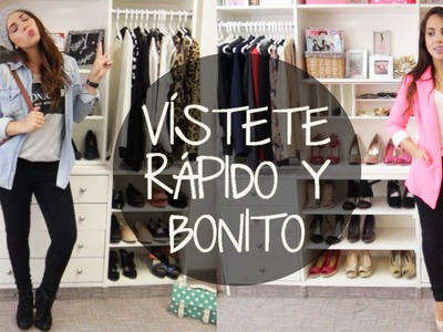 Esenciales para vestirte rápido y bonito | What The Chic