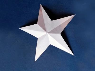 Estrellas de papel ORIGAMI - Manualidades para niños - ChispiKids