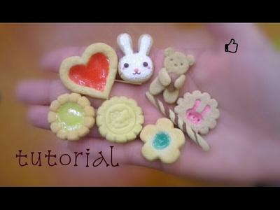 Galletas de porcelana fría sin moldes sin cortadores ♥