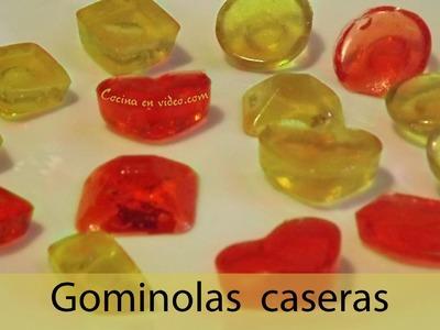 Gominolas caseras, para fiestas y cumpleaños, #219 . Cocina en video.com