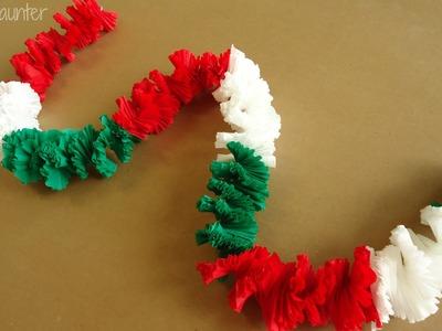 Guirnalda || Collar hawaiano. Fiestas patrias
