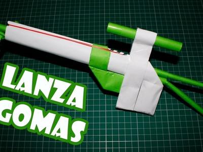 Hacer una sniper de papel lanza gomas | Armas Caseras Fáciles