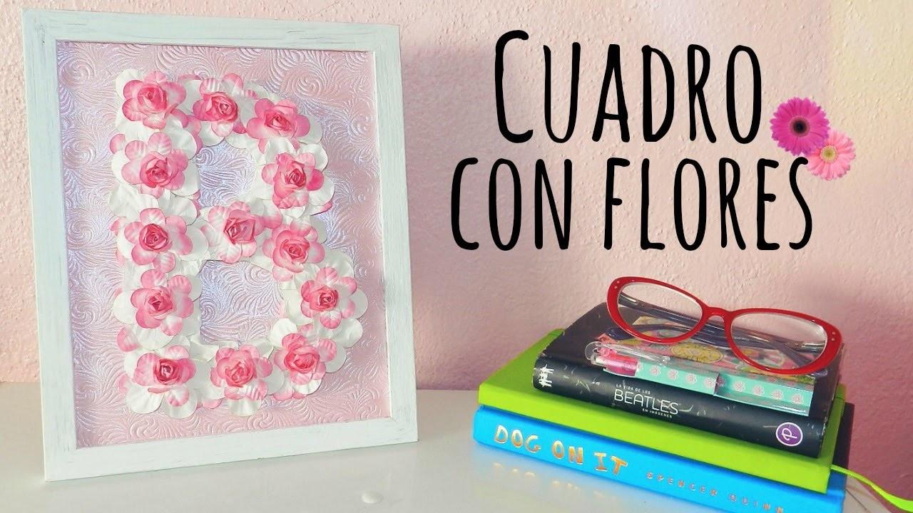 Haz un cuadro con flores - BrightBrenda