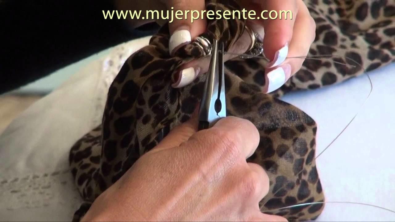 Manualidades con Beatriz Guajardo , Pañuelos tipo collar